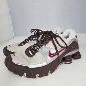 Nike Womens Shox Turbo V+ - 316874 061 Brown